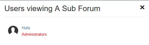 پلاگین Members Viewing Forums